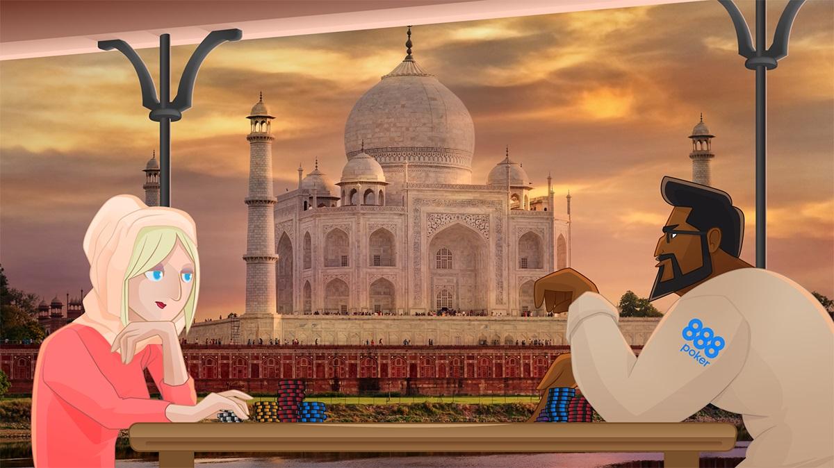 Pôquer na Índia